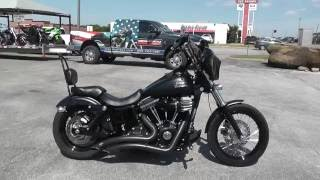 1. 317446 - 2013 Harley Davidson Dyna Street Bob FXDB - Used Motorcycle For Sale