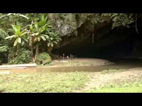 Tam Lod Cave - Mae hong son - Thailand (видео)