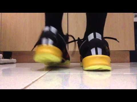 Kobe 8 Sulfur (Replica) On Feet
