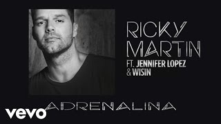 Ricky Martin видео клип Adrenalina (feat. Jennifer Lopez & Wisin) (Spanglish Version)