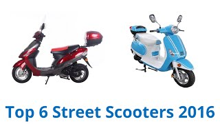 7. 6 Best Street Scooters 2016