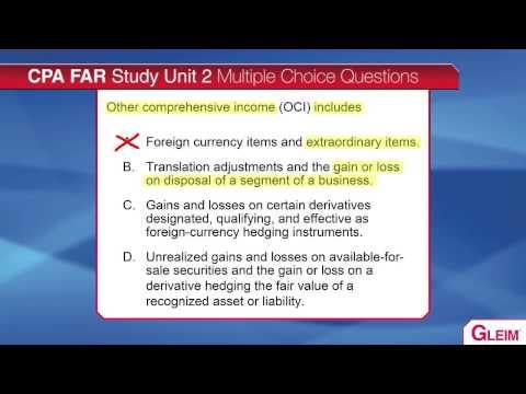 CPA Exam - Comprehensive Income/OCI Video Lecture (видео)
