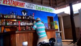 Mahahual Mexico  city photos : Fresh sea food on the beach - Mahahual Mexico Travel - YouTube