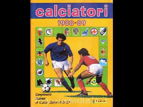album figurine calciatori panini, stagione 1988-89!