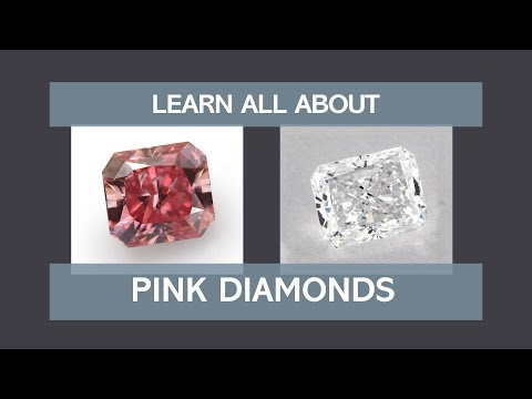 Learn All About Pink Diamonds