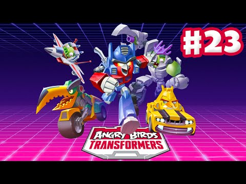 Angry Birds Transformers – Gameplay Walkthrough Part 23 – Ultimate Optimus Prime Rescued! (iOS)