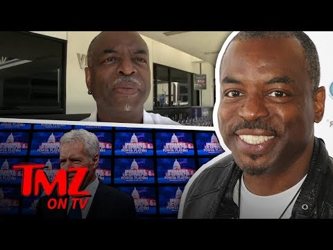 LeVar Burton Wants To Be The Next 'Jeopardy' Host! | TMZ TV