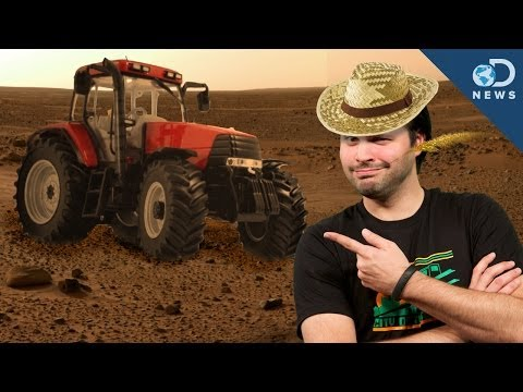 mars - Last year, NASA announced that they had found water on Mars. This posed a question to scientists: Could we grow plants in the soil of Mars? Trace explains wh...