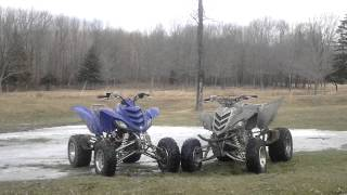 1. Yamaha Raptor 660r vs. Raptor 700r specs/review