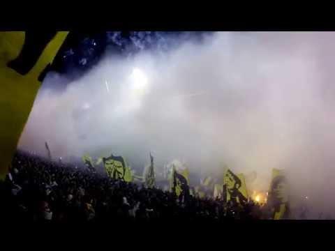 Video - Rosario Central - Boca Juniors Recibimiento - Los Guerreros - Rosario Central - Argentina