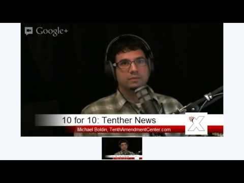 Tenther News: 10-29-12