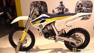 4. 2015 Husqvarna TC 85 - Walkaround - 2013 EICMA Milan Motorcycle Exhibition
