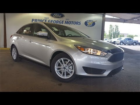 New 2017 Ford Focus SE 4 Door Car in Prince George L280780