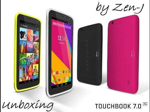 Unboxing tablet Blu 7.0 3G P200