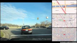 Farmington Hills (MI) United States  city photos gallery : Halsted Rd (Farmington Hills, MI) to Bellaire Ave (Royal Oak, MI) via Southfield, Lathrup Vil (...)