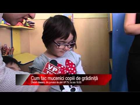 Diseară la știri VP TV: Cum fac mucenici copiii de grădiniță