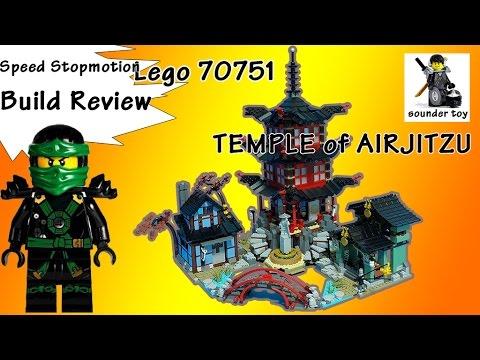 Vidéo LEGO Ninjago 70751 : Le temple de l'Airjitzu
