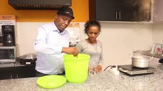 How to Make Injera 0718