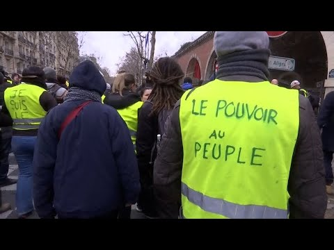 Frankreich: Mehr als 80.000 Menschen bei Gelbwesten-P ...