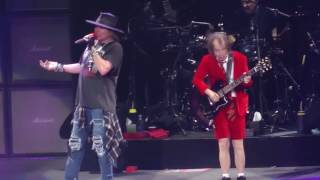 AC/DC W/Axl Rose - Thunderstruck (Madison Square Garden,Nyc) 9.14.16