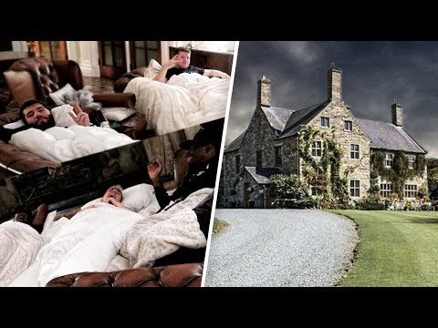 SIDEMEN SLEEP IN HAUNTED MANOR HOUSE (WARNING)