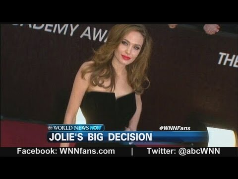 Angelina - The actress discovered she has the BRCA1 gene which increases the risk of getting breast cancer. *More: http://abcn.ws/10KjlYu.