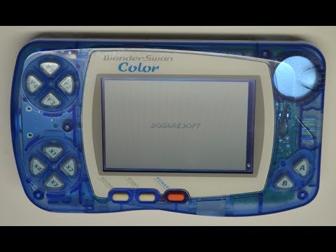 All Bandai WonderSwan Color Games - Every WonderSwan Color Game In One Video