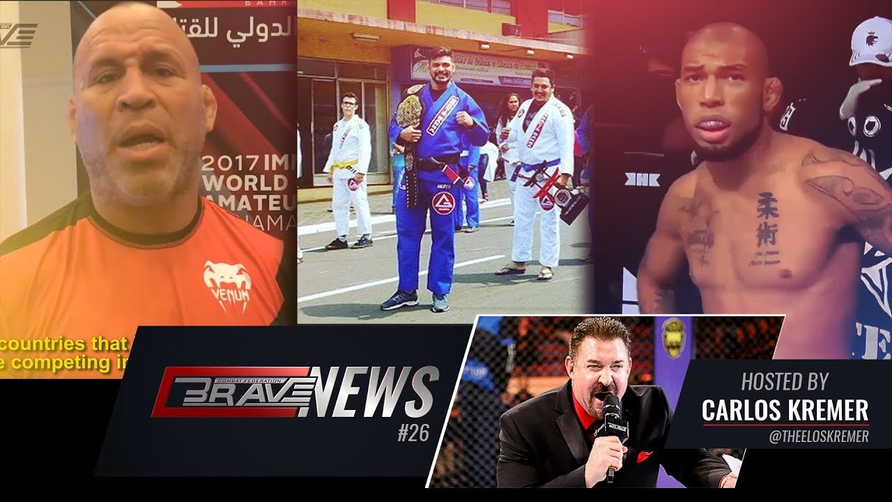 BRAVE NEWS #26: Wanderlei Silva praises Brave; Luan Santiago campaigns for the title