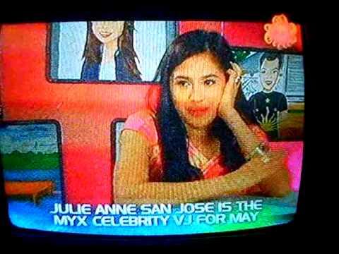MYX News Julie Anne San Jose for Myx Celebrity VJ