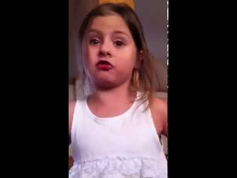 Little Girl Has A Funny 'I'm Moving On' Rant After Her Brother Throws Dirt At Her