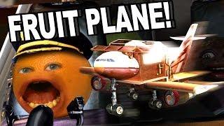 Video Annoying Orange HFA - Fruit Plane! MP3, 3GP, MP4, WEBM, AVI, FLV Januari 2018