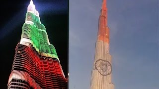 India's 68th Republic Day celebrations with a spectacular illumination of the iconic Burj Khalifa with the colours of the Indian national flag Stay tuned to ...