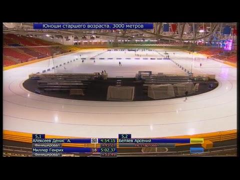 Первенство г. Москвы по  конькобежному спорту (видео)