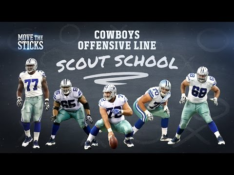Cowboys O-Line: The Best Group in Football? | Scout School | Move the Sticks | NFL