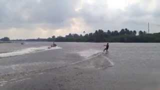 9. Wakeboard with Seadoo Wake 155