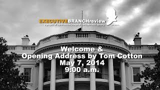 Click to play: Welcome & Opening Address by Tom Cotton - Event Audio/Video