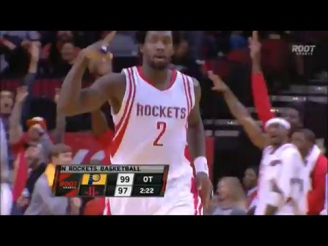 Rockets hit clutch threes in overtime to beat Pacers