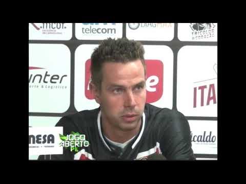 [JOGO ABERTO PE] Santa Cruz: lateral Bruno Ré fala pela primeira vez com a imprensa