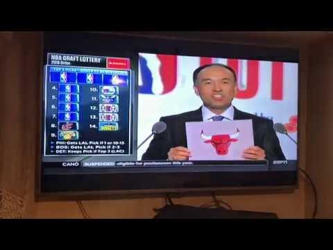 2018 NBA Draft Lottery Reaction