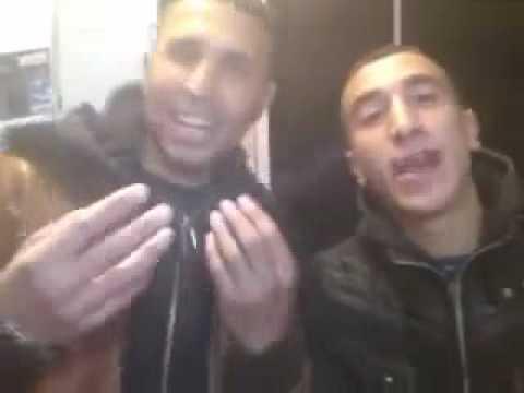 شباب المغرب تسخر من الجزائر بعد الهزيمة من مصر.flv
