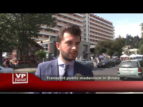 Transport public modernizat în Sinaia