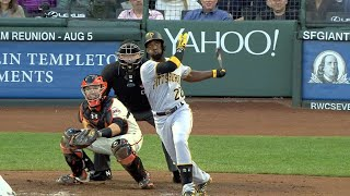 Daily Recap: Andrew McCutchen belted a three-run homer and drove in four and Jordy Mercer added a three-run jack of his own in the 10-3 winCheck out http://MLB.com/video for more!About MLB.com: Former Commissioner Allan H. (Bud) Selig announced on January 19, 2000, that the 30 Major League Club owners voted unanimously to centralize all of Baseball's Internet operations into an independent technology company. Major League Baseball Advanced Media (MLBAM) was formed and charged with developing, building and managing the most comprehensive baseball experience available on the Internet. In August 2002, MLB.com streamed the first-ever live full length MLB game over the Internet when the Texas Rangers and New York Yankees faced off at Yankee Stadium. Since that time, millions of baseball fans around the world have subscribed to MLB.TV, the live video streaming product that airs every game in HD to nearly 400 different devices. MLB.com also provides an array of mobile apps for fans to choose from, including At Bat, the highest-grossing iOS sports app of all-time. MLB.com also provides fans with a stable of Club beat reporters and award-winning national columnists, the largest contingent of baseball reporters under one roof, that deliver over 100 original articles every day. MLB.com also offers extensive historical information and footage, online ticket sales, official baseball merchandise, authenticated memorabilia and collectibles and fantasy games.Major League Baseball consists of 30 teams split between the American and National Leagues. The American League consists of the following teams: Baltimore Orioles; Boston Red Sox; Chicago White Sox; Cleveland Indians; Detroit Tigers; Houston Astros; Kansas City Royals; Los Angeles Angels ; Minnesota Twins; New York Yankees; Oakland Athletics; Seattle Mariners; Tampa Bay Rays; Texas Rangers; and Toronto Blue Jays. The National League, originally founded in 1876, consists of the following teams: Arizona Diamondbacks; Atlanta Brav