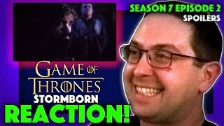 """Here's my reaction to Game of Thrones Season 7 episode 2 """"Stormborn""""! So glad this show is back and this is an amazing..."""