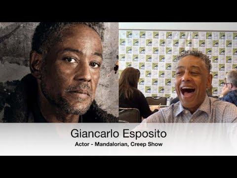 Giancarlo Esposito and I have a Fun Conversation about the Mandalorian! #D23Expo, #Mandalorian