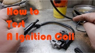 8. Ignition Coil Primary & Secondary Resistance Testing