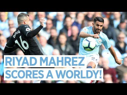 Video: RIYAD MAHREZ SCORES AN ABSOLUTE WORLDY | MAN CITY 5 - 0 BURNLEY