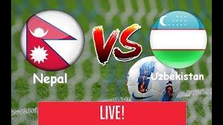 Nepal vs Uzbekistan  U-23  Today Live http://tv.goalnepal.com/ Facebook :- https://www.facebook.com/pages/Counte... Google + ...