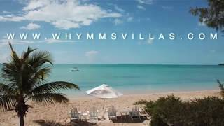 "Whymms Villas presents ""Sunset House & Studio"" luxury villa rental in Long Island, Bahamas"