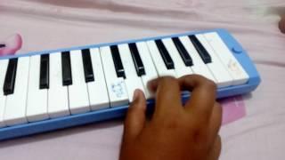 Pianika lagu Juara di hati