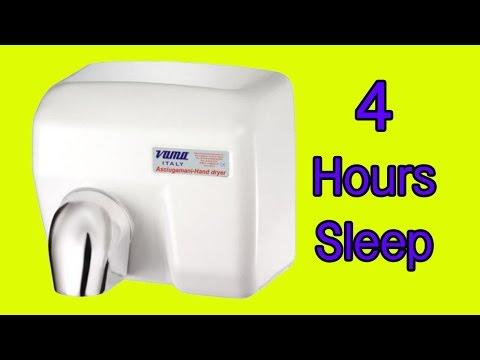 MAGIC ASMR Hand dryers- Hair dryer Sound sleep FAST